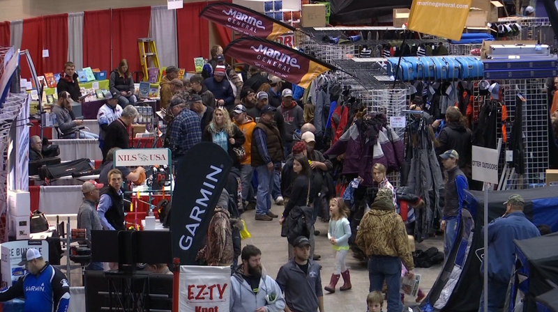 The annual Arrowhead Ice Fishing Show is happening Dec. 13-15.