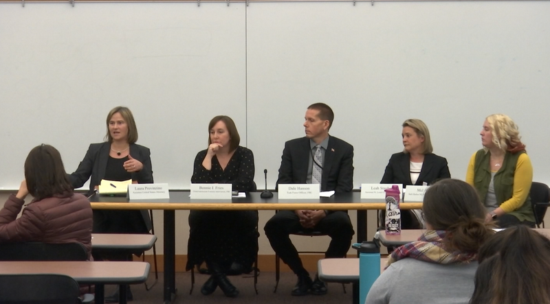 Law Enforcement Discuss Sextortion Awareness with Community Members
