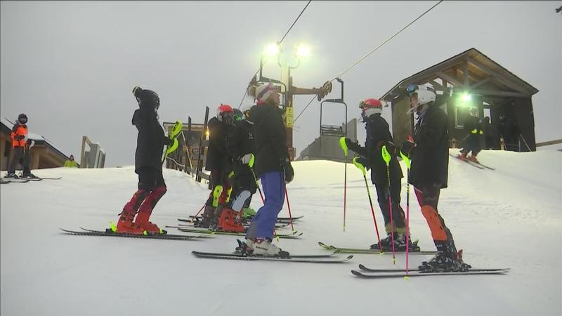 Prep teams from across the Northland took to the slopes for the Alpine Invitaitonal Monday.