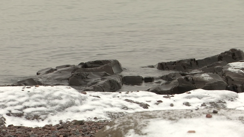 Lake Superior Declines Less than Normal, Remains Near Record High