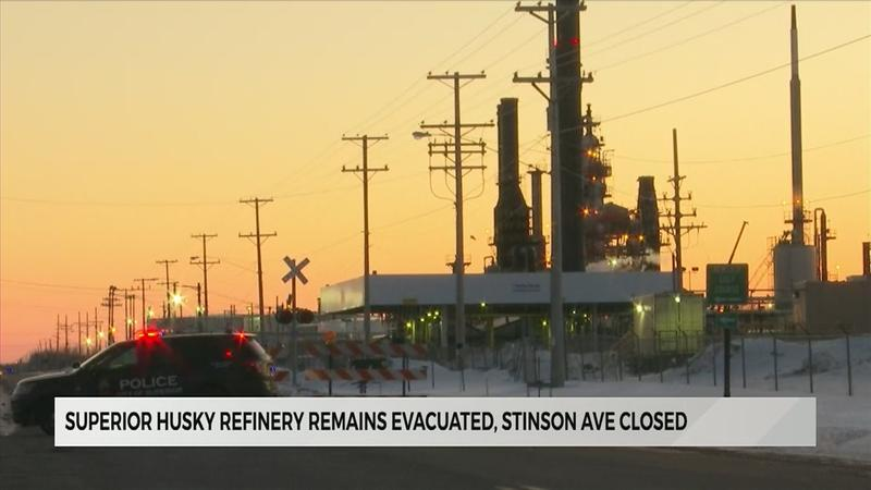 Husky Refinery Remains Evacuated After Tower at Risk of Falling was Discovered