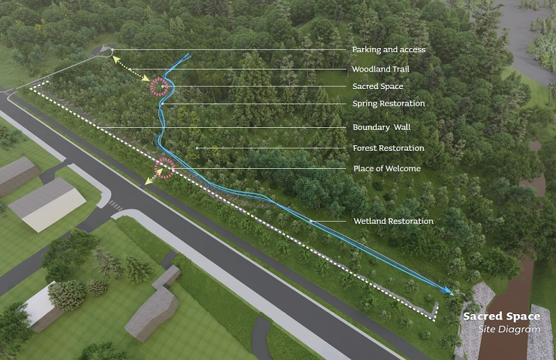On Wednesday night, the final proposed design concept for the Mission Creek Cemetery was unveiled.