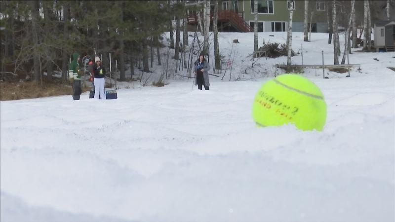 Up North: Three Decades Later Bob Maas' Golf on Ice Tournament Still a Hit