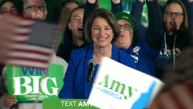 Amy Klobuchar is ending her campaign for president.