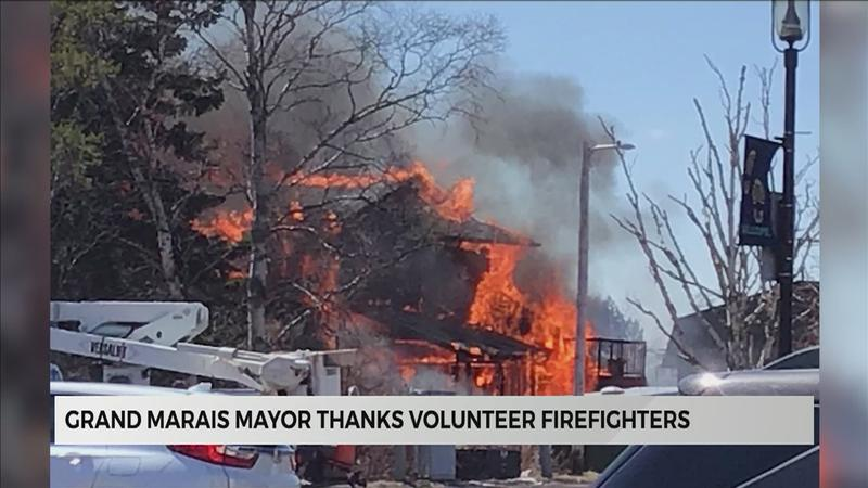 Grand Marais uniting to help businesses destroyed by fire