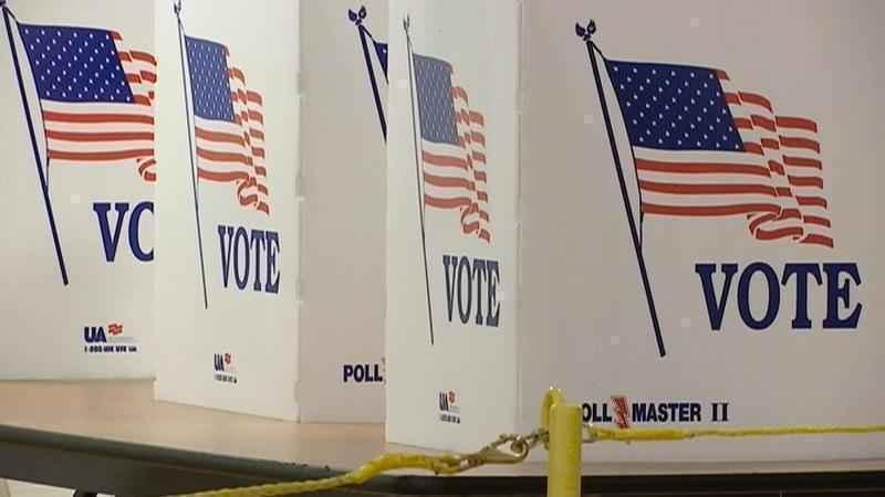 Wisconsin election underway with precautions at polls