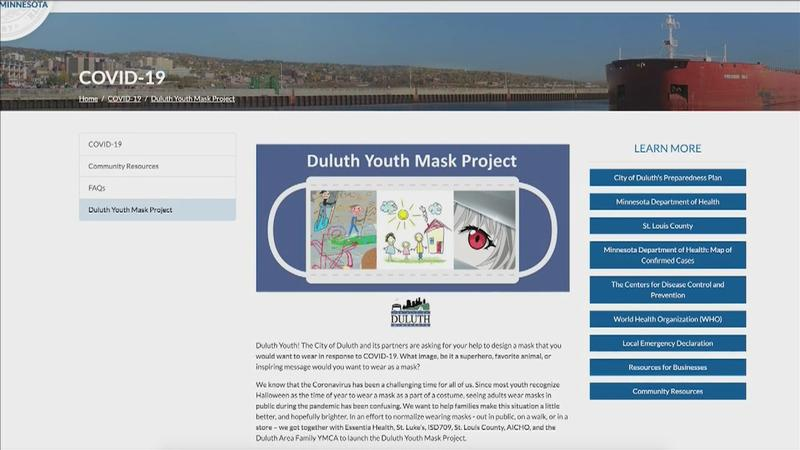 City of Duluth launches Youth Mask Project to normalize face masks