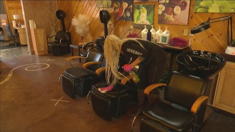 Wisconsin salons staying busy after reopening for appointments