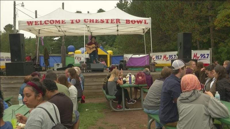 Northlanders celebrated the changing of the seasons on Saturday with the 34th annual Chester Bowl Fall Fest held in Duluth.