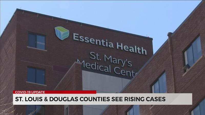 St. Louis County, Douglas County see increase in COVID-19 cases