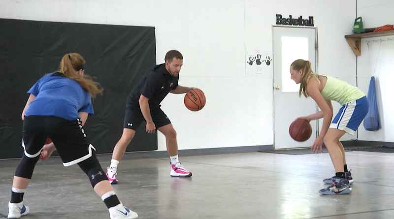 Luke Salo is back to in-person sessions as a part of his Salo's Showcase basketball training.
