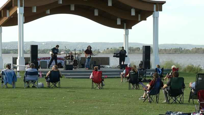 Crescent Moon performs at Bayside Sounds Concert Series.