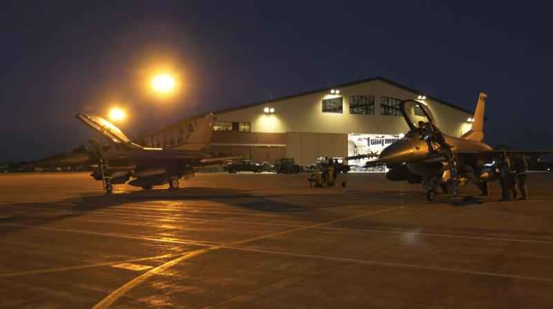 Tuesday marked night one of the 148th Fighter Wing's night flying training, and WDIO was able to get an inside look at what it consists of.