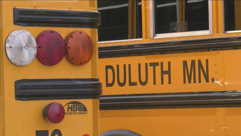 Duluth School District providing free breakfast and lunch for students during the week.