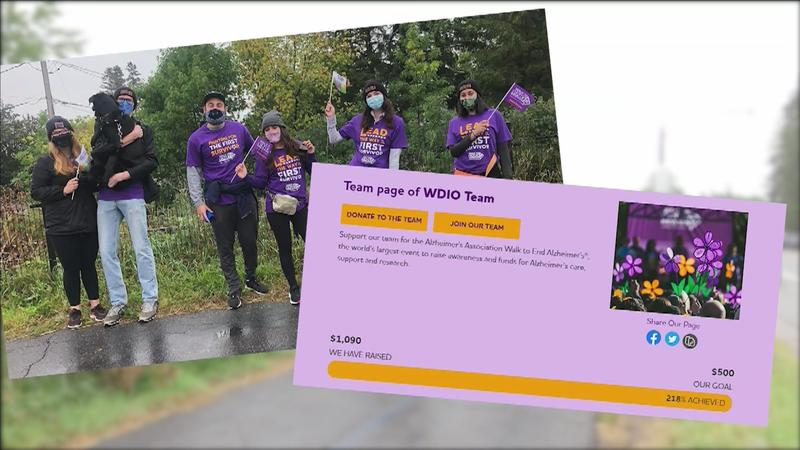 WDIO Team raised over $1,000 for Walk to End Alzheimer's