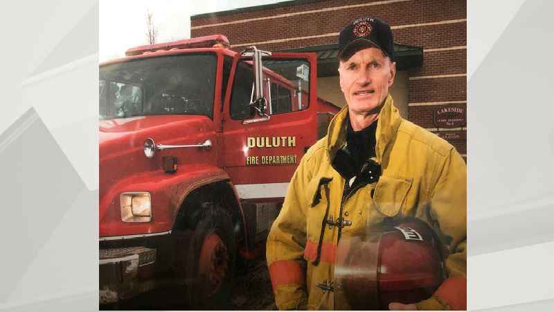 Robert Mills, a firefighter who served on the Duluth Fire Department for 30 years and retired as a Captain.