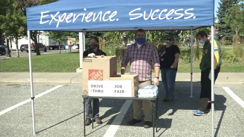A drive thru job fair in the Superior�offered to�help connect employers with potential employees ran by the Northwest Wisconsin Workforce Investment Board.