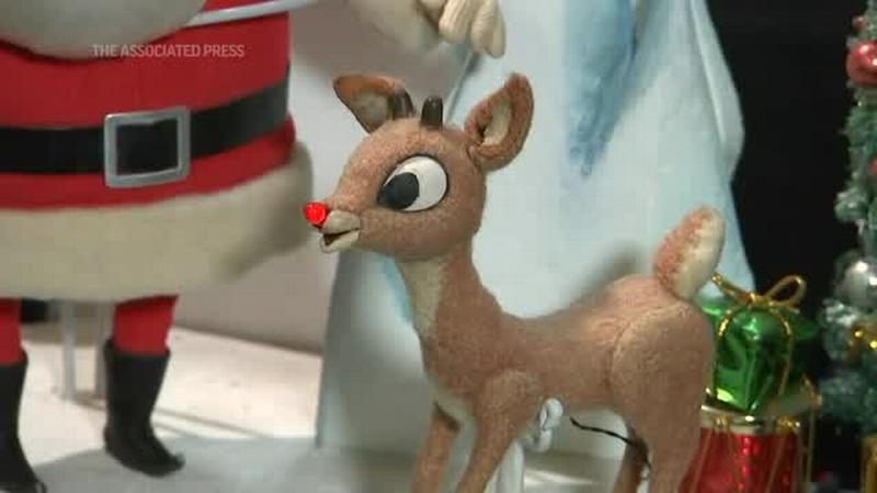 Rudolph and Santa Claus stop-motion puppets up for auction