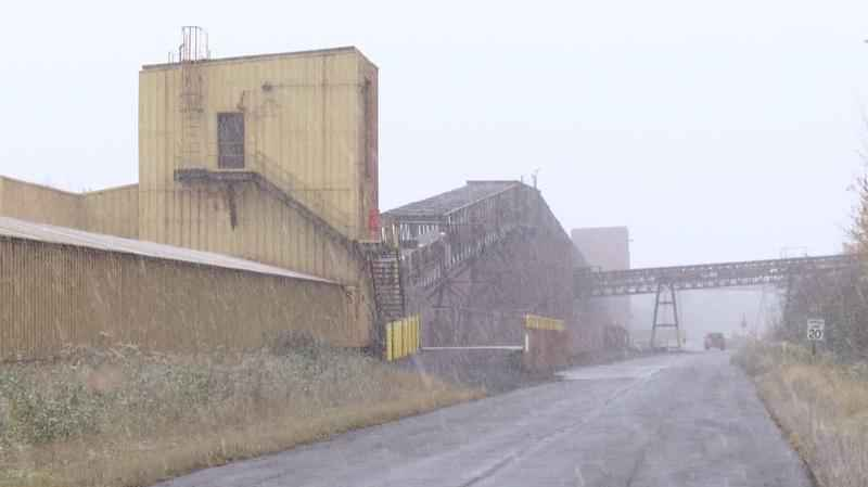 The BNSF railyard/Allouez Taconite Facility in Superior