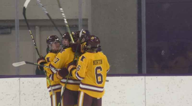 UMD defeated MSU-Mankato 7-3 Saturday earning the weekend road sweep.