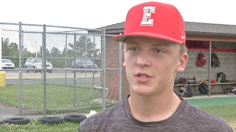 Duluth East's Joe Vos plans to play baseball at St. Thomas.