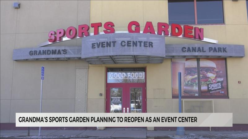 Grandma's Sports Garden to reopen as event center