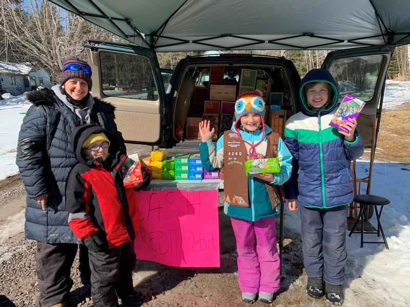 8-year-old Rosalie is on a mission to sell 5,000 Girl Scout cookies to send her troop to camp.
