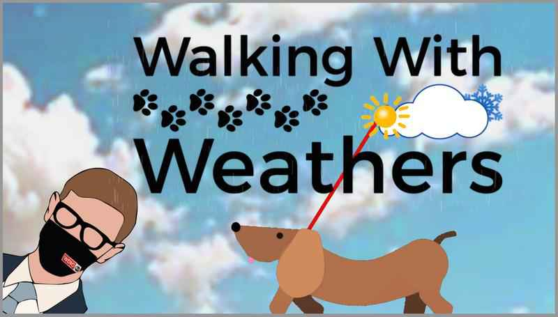 The Walking with Weathers Forecast at 6:50 a.m. on WDIO-TV