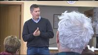 Rep. Sean Duffy held town hall meetings in Butternut, Cable, and Solon Springs on Monday.