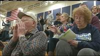 Butch and Vivian Jampsa have become known as Hermantown's Super Fans.