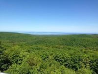 The wooded hills of Porcupine Mountains Wilderness State Park are seen in this file photo. Exploratory drilling for copper deposits is taking place on the western edge of the park.