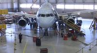 There are four jets in AAR's hangar right now, putting it at capacity.