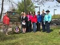 Blue Star Marker Dedicated in Duluth Honoring Armed Forces Veterans