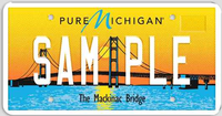 Detroit Sports Fans Can Get Official Michigan License Plates