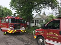 A house fire in Hibbing killed two cats and a dog.