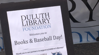 Books & Baseball Day with the Huskies