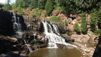 A 20-year-old woman who fell at Gooseberry Falls State Park over the weekend, has died.