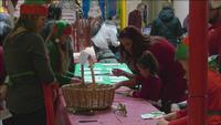 The first annual Santa's Elf in Training Workshop took place at the Miller Hill Mall on Saturday.