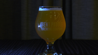 Bent Paddle Brewing Co.'s Christmas Cookie Cream Ale supports Bentleyville Tour of Lights.