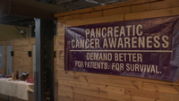 Monday was the second annual pancreatic cancer fundraiser at Clyde Iron Works.
