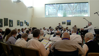 The Victory Chorus performed their winter concert on Sunday made up of singers who have dementia or Alzheimer's.