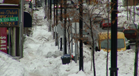 Some sidewalks in Duluth remain snow covered. The City of Duluth is warning people to follow the sidewalk ordinance.