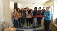 A celebration for a the new Early Head Start Center in Superior included a ribbon cutting with the chamber.