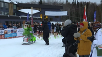 Ryan Redington won his second John Beargrease sled dog marathon coming in Tuesday evening around 4:35 pm.