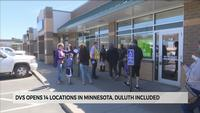 Long lines at Minnesota DVS exam stations as they reopen for customers